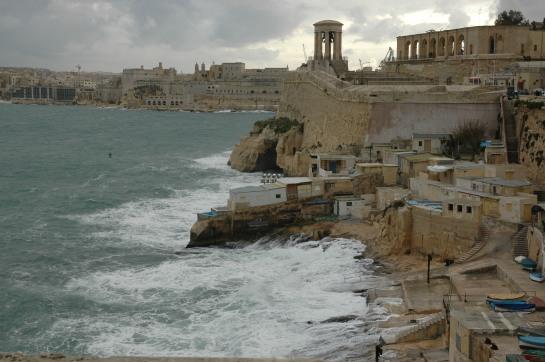 Crashing Waves and City Walls